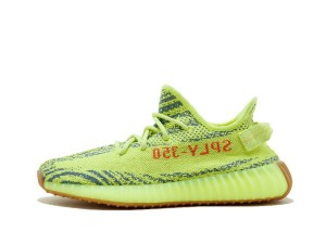Fake Yeezy 350 v2 Semi-Frozen Yellow