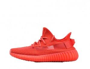Full Red Yeezy 350 v2 Fake Sneakers