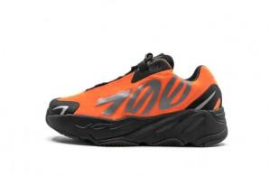 Kids Size Yeezy Boost 700 MNVN Orange Fake FX3354