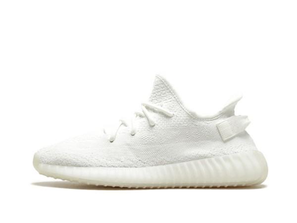 Fake Cream/Triple White Yeezy 350 v2