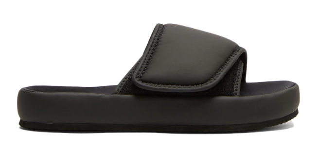 Black Yeezy Neoprene Slipper